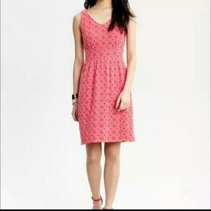 Banana Republic MadMen Pink Dress Size 4